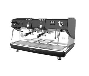 Espressobrygare två bryggrupper