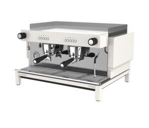 Espressomaskin två grupper