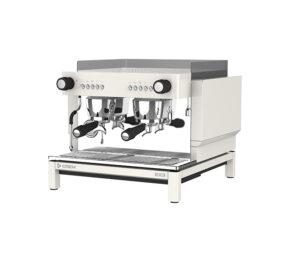 Smidig espressomaskin två brygg